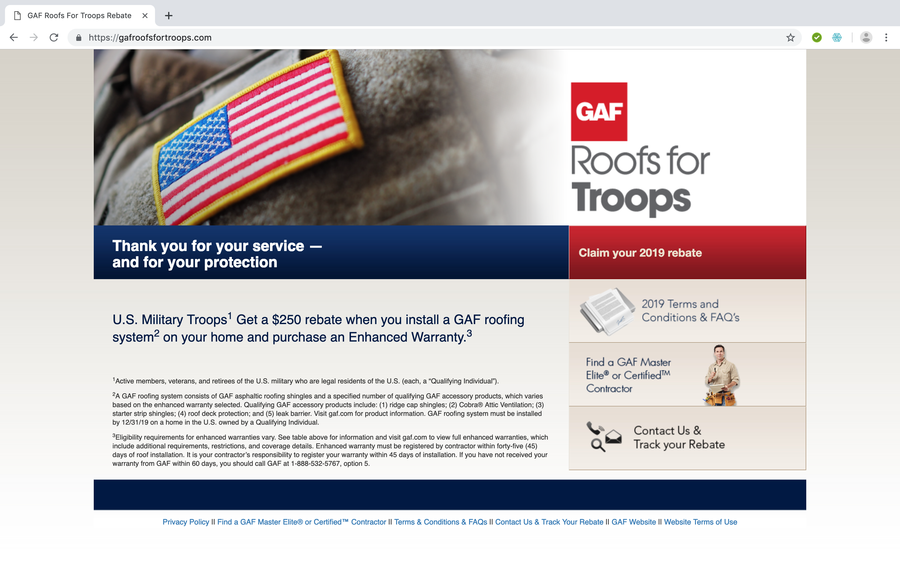 GAF-Roofs-For-Troops-Home