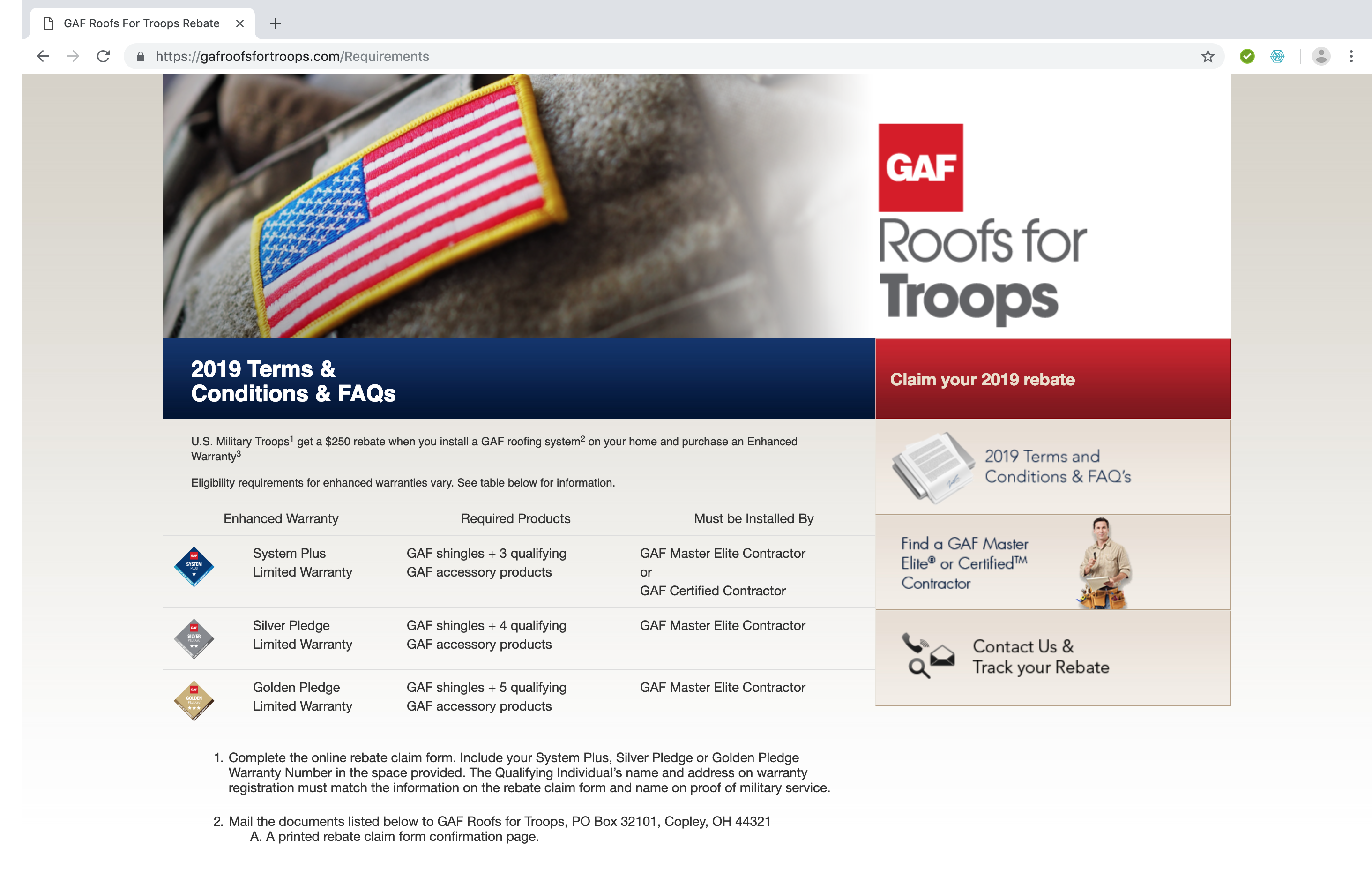 GAF-Roofs-For-Troops-terms