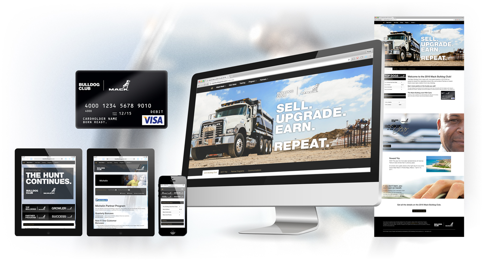 Mack Truck Sales Partner and Employee Incentive Program