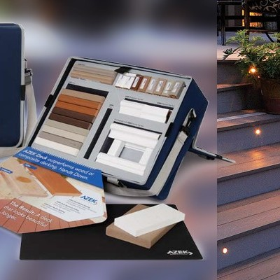 Azek Building Products Decking Sales Kit