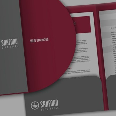 Sanford Electrical Services Branding