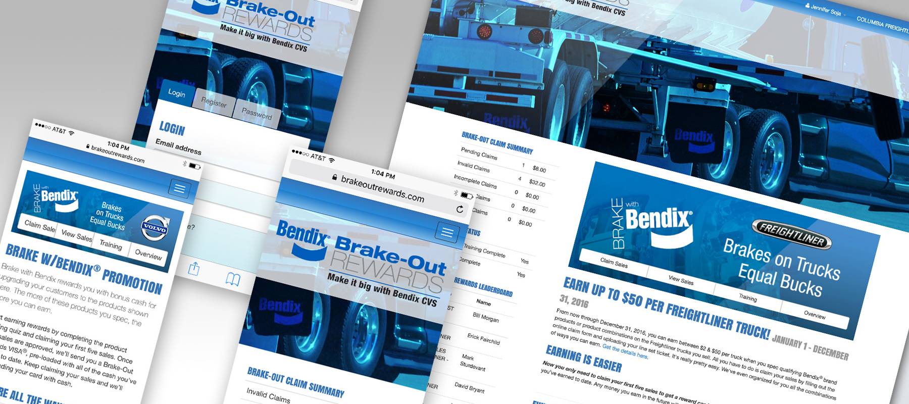 Bendix Brake-Out Rewards Incentive Program