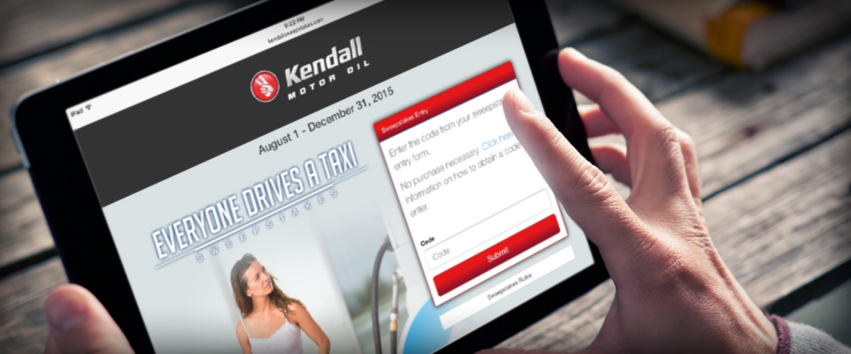 Kendall Quarterly Sweepstakes