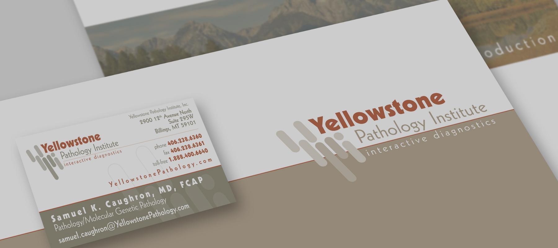 Yellowstone Pathology Group Rebrand